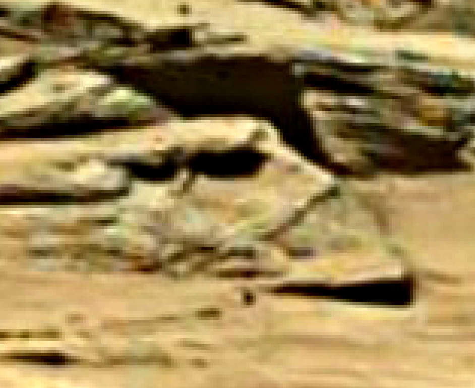 mars sol 1284 anomaly-artifacts 3-1 was life on mars