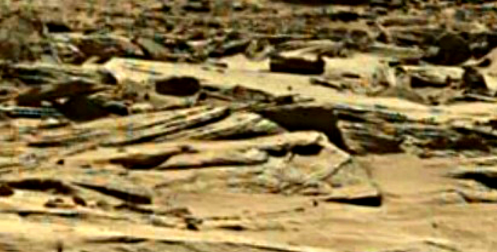 mars sol 1284 anomaly-artifacts 3 was life on mars
