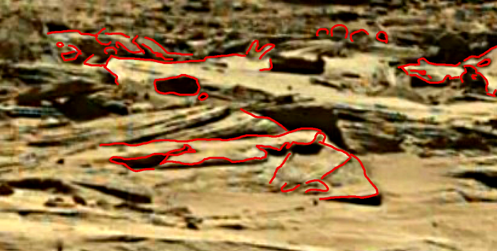 mars sol 1284 anomaly-artifacts 3b was life on mars