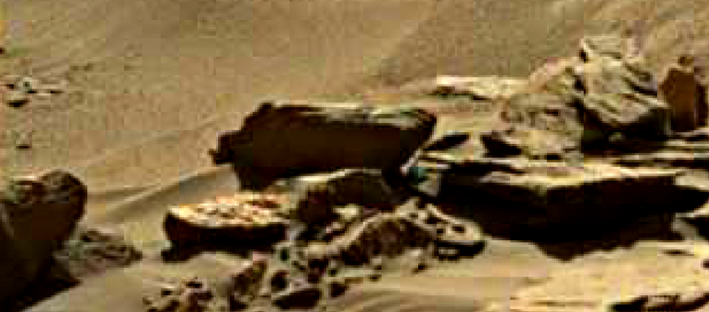 mars sol 1284 anomaly-artifacts 4 was life on mars