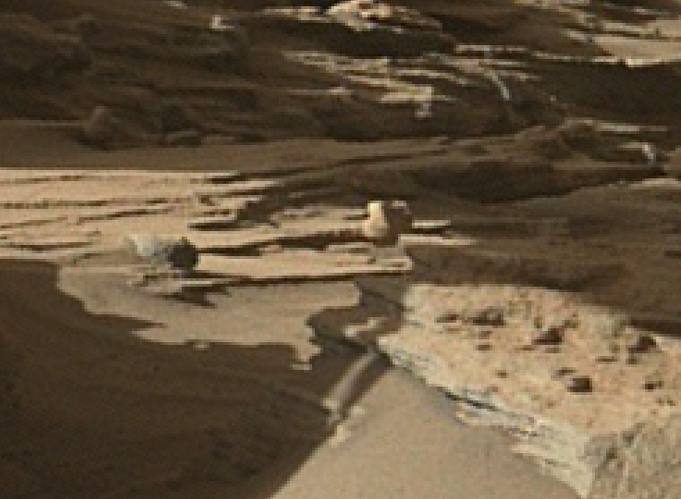 mars sol 1287 anomaly-artifacts 5 was life on mars