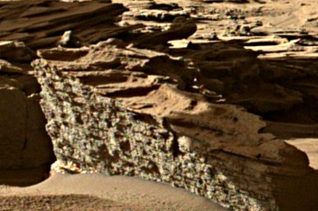 mars sol 1287 anomaly-artifacts 6 was life on mars