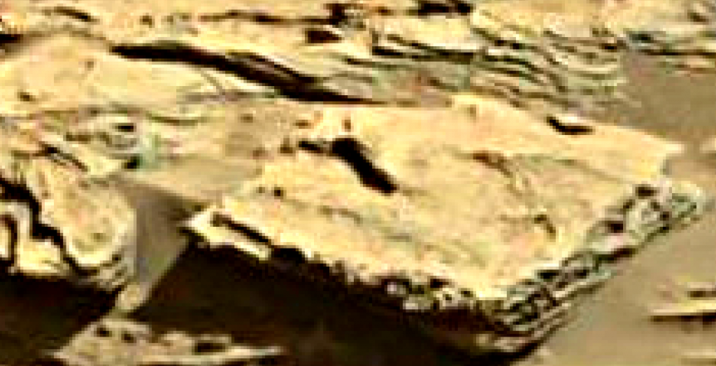 mars sol 1294 anomaly-artifacts 5a was life on mars
