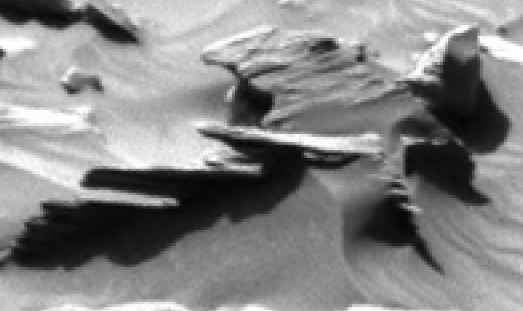 mars sol 1296 anomaly-artifacts 6 was life on mars