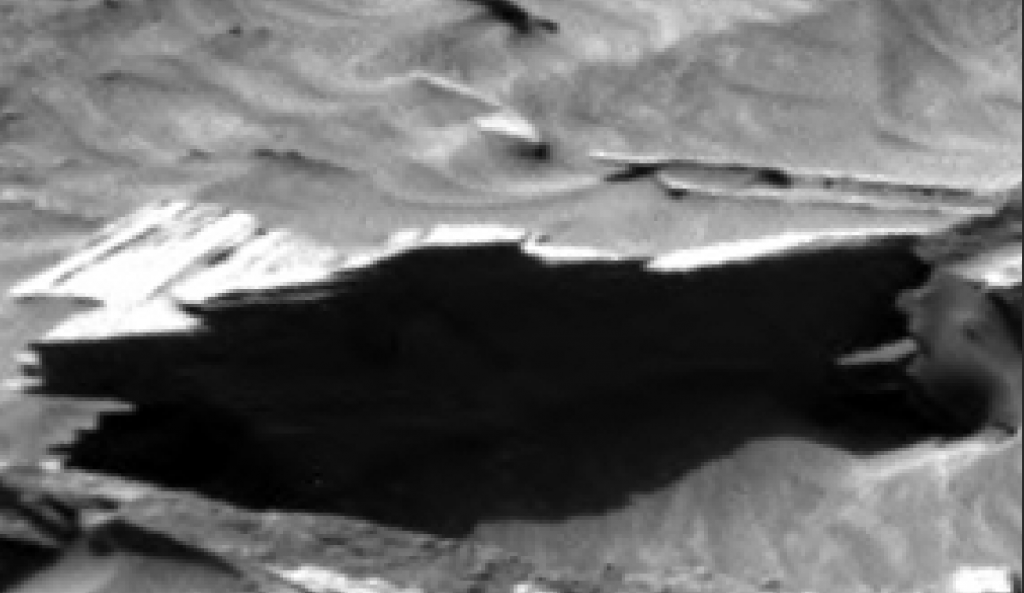 mars sol 1296 anomaly-artifacts 7a was life on mars