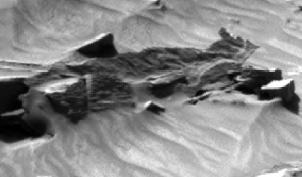 mars sol 1296 anomaly-artifacts 7b was life on mars
