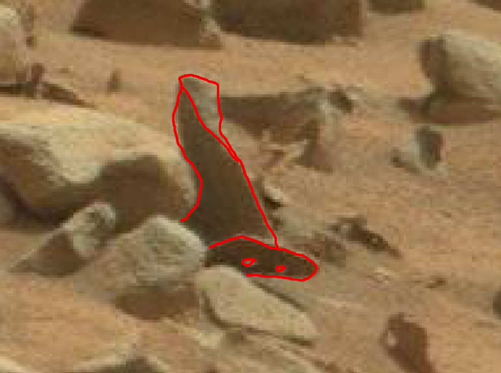 mars sol 837 anomaly artifacts 1a was life on mars