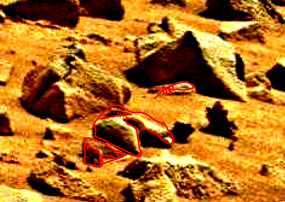 mars sol 837 anomaly artifacts 3a was life on mars