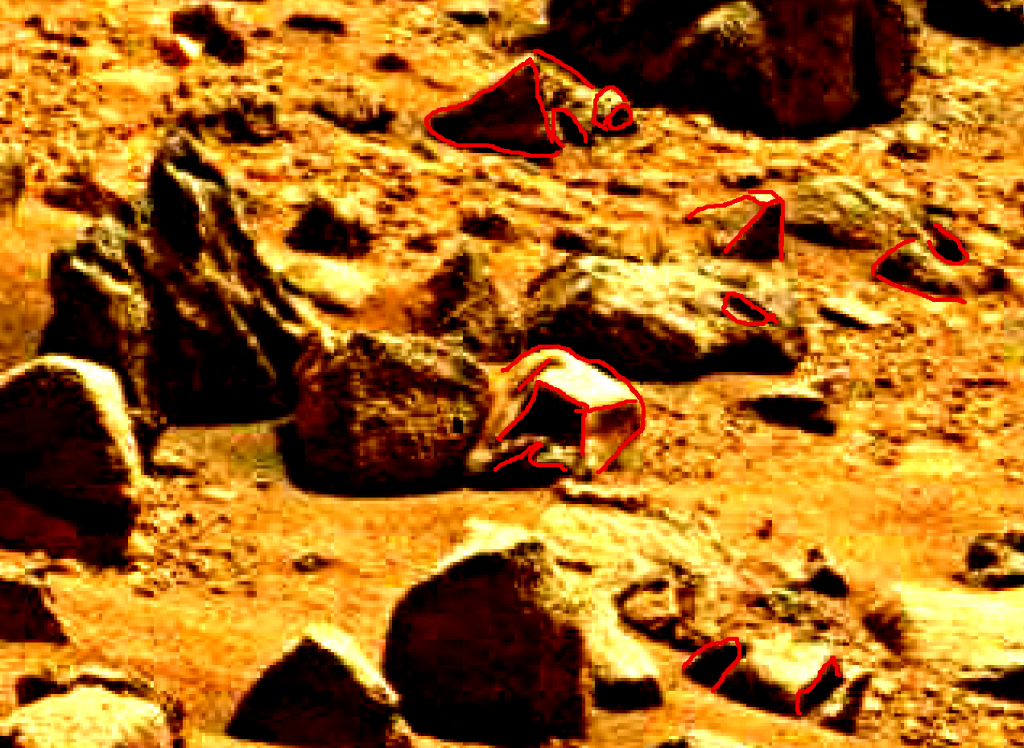 mars sol 837 anomaly artifacts 4a was life on mars