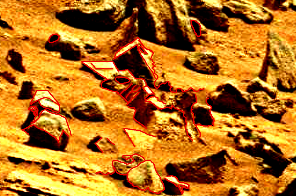 mars sol 837 anomaly artifacts 5a was life on mars