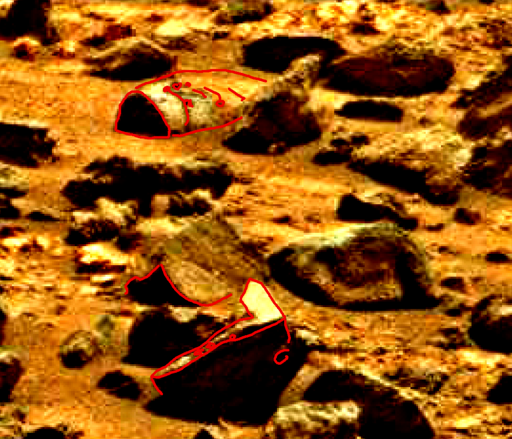 mars sol 837 anomaly artifacts 6a was life on mars