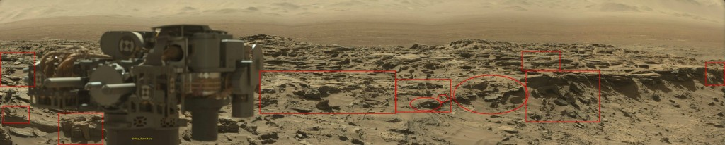 panoramic sol 1276 highlighted- was life on mars