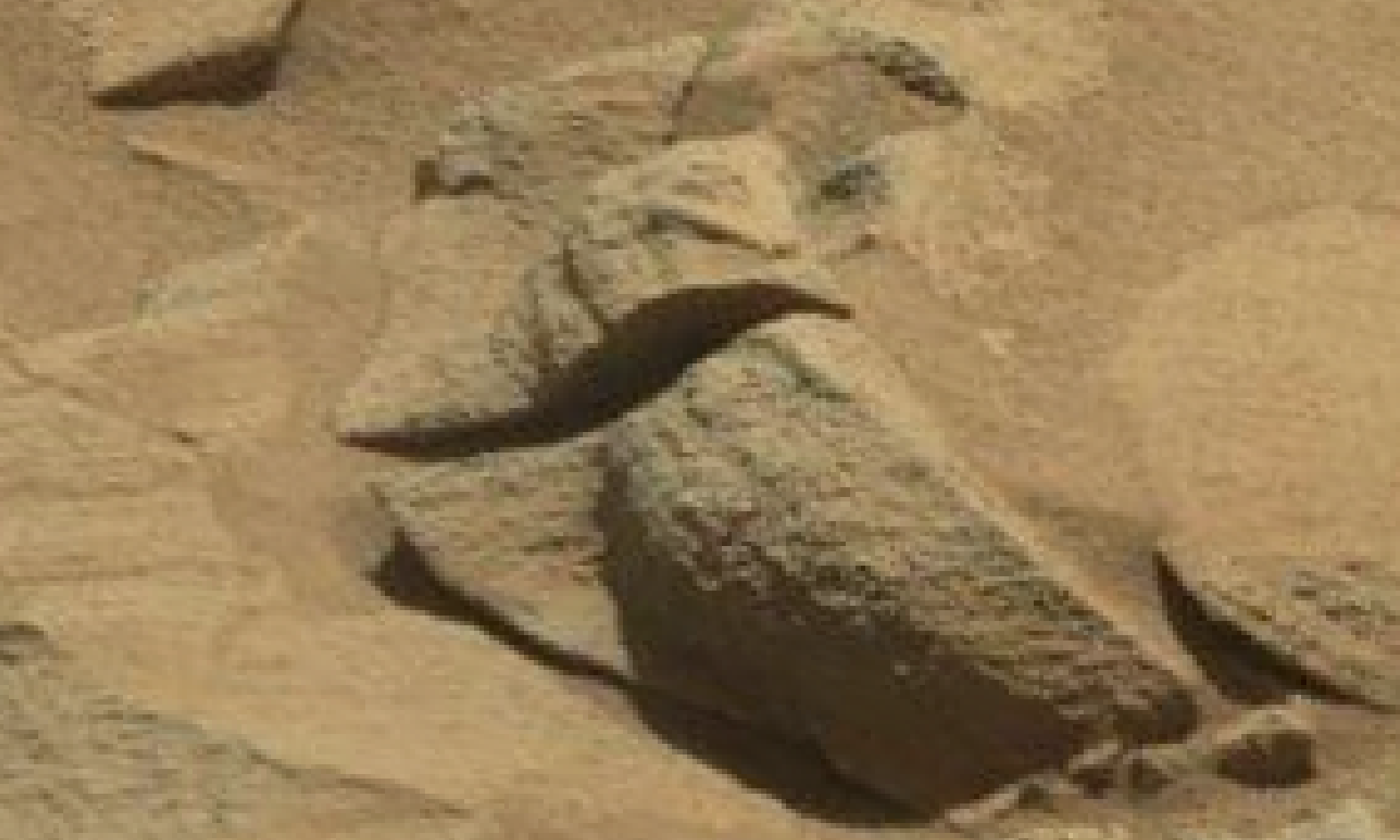 mars sol 1293 anomaly-artifacts 2 was life on mars