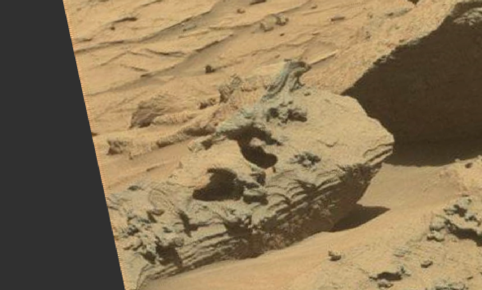 mars sol 1293 anomaly-artifacts 3 was life on mars