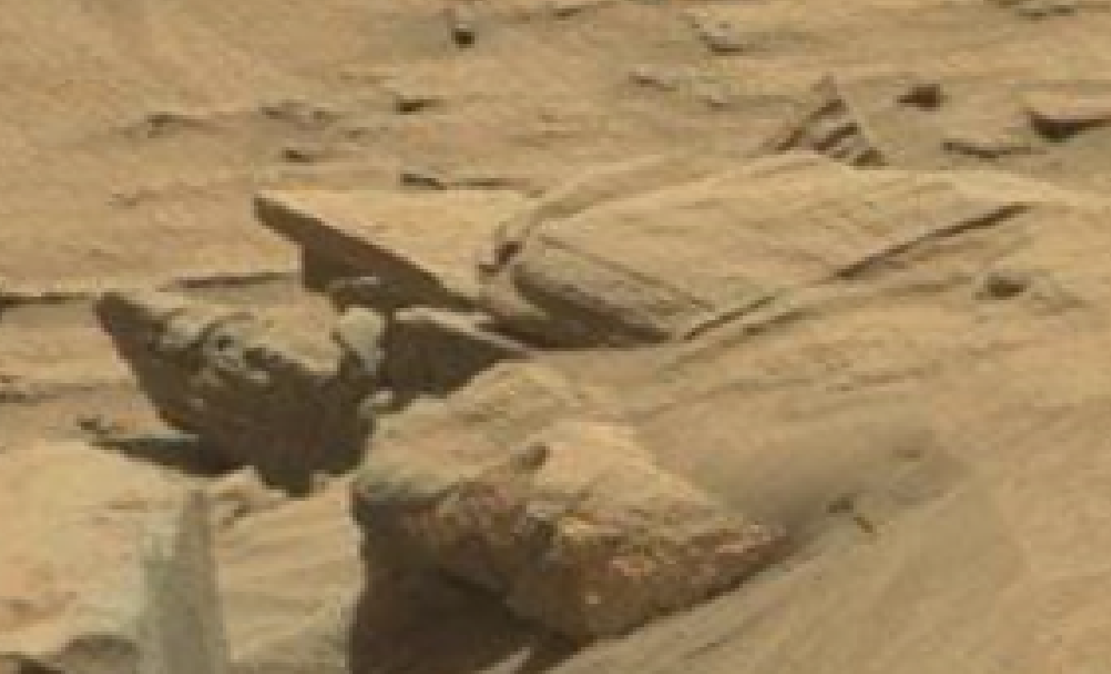 mars sol 1296 anomaly-artifacts 14 was life on mars