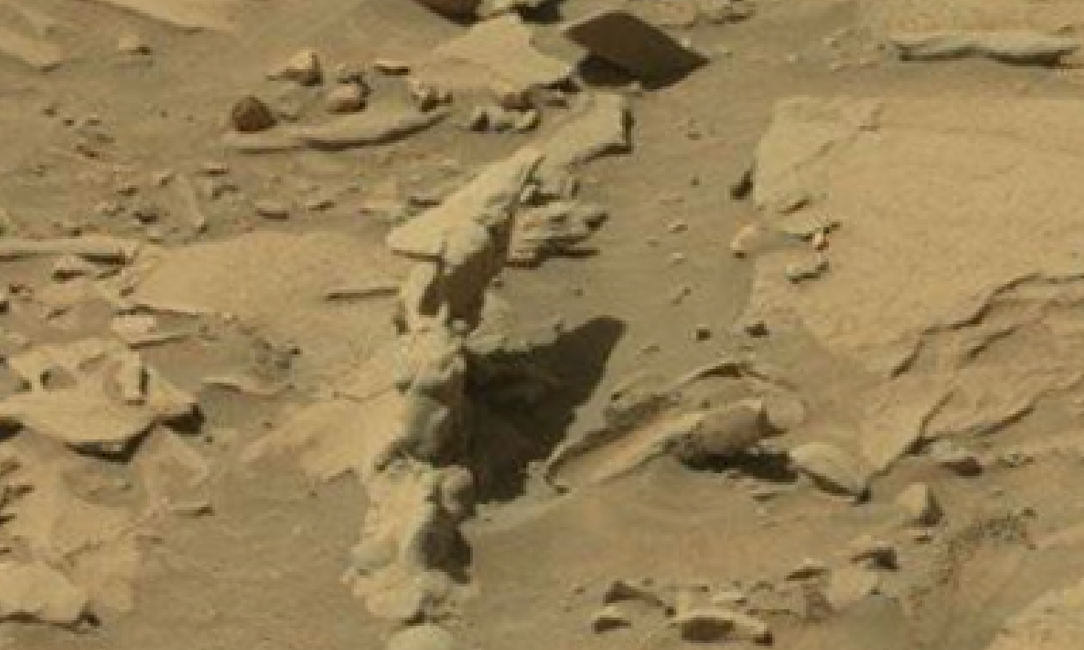 mars sol 1296 anomaly-artifacts 16 was life on mars