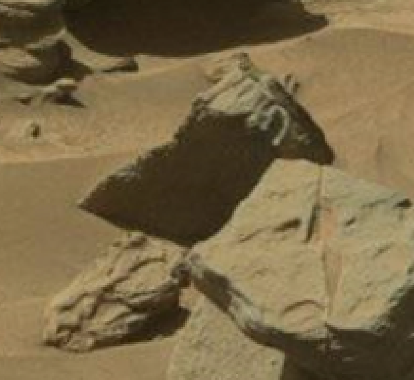 mars sol 1296 anomaly-artifacts 23 was life on mars