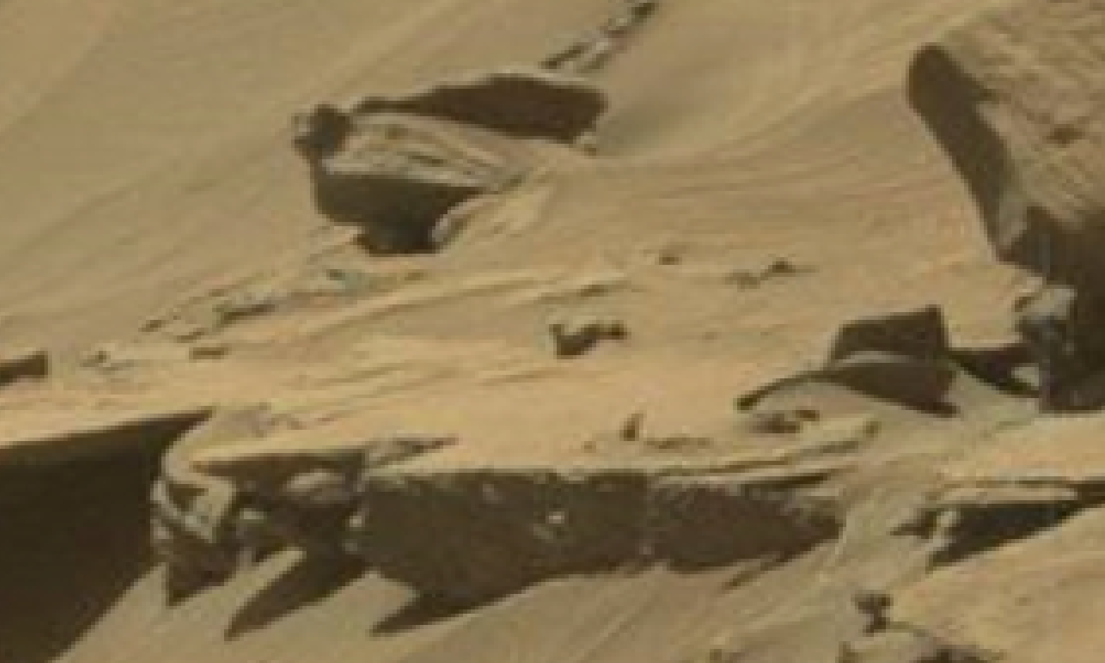 mars sol 1296 anomaly-artifacts 31 was life on mars