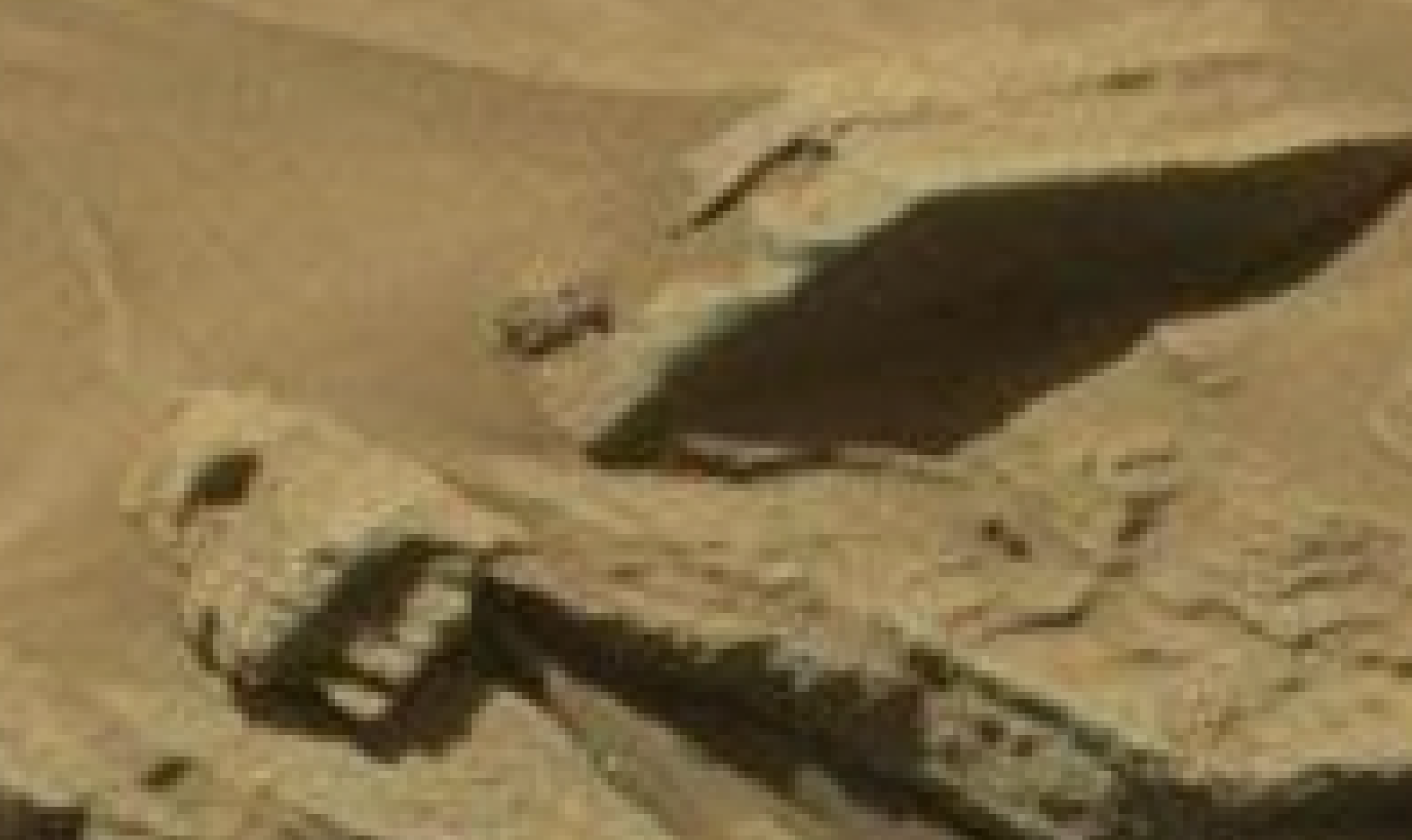 mars sol 1296 anomaly-artifacts 32 was life on mars