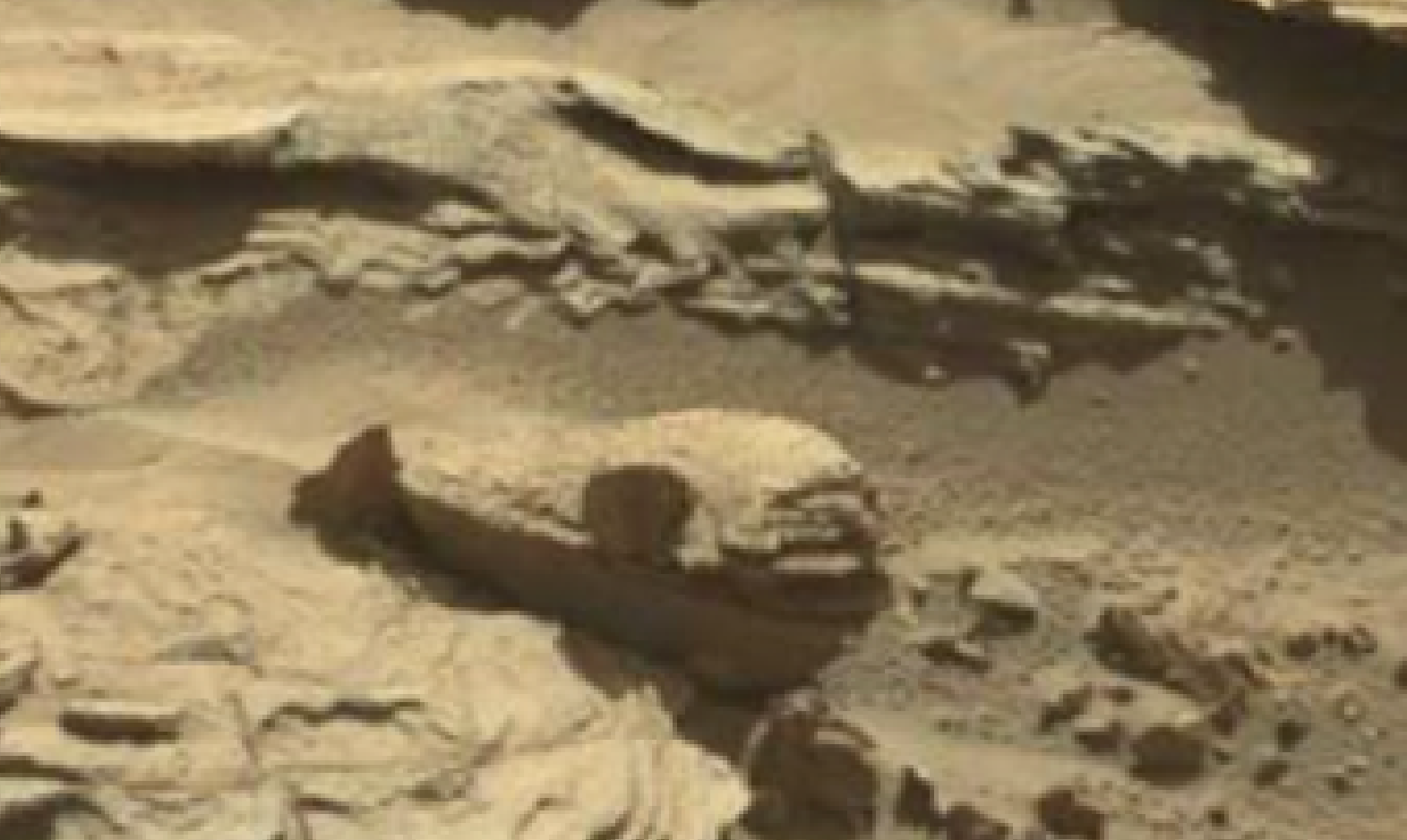 mars sol 1298 anomaly-artifacts 1 was life on mars