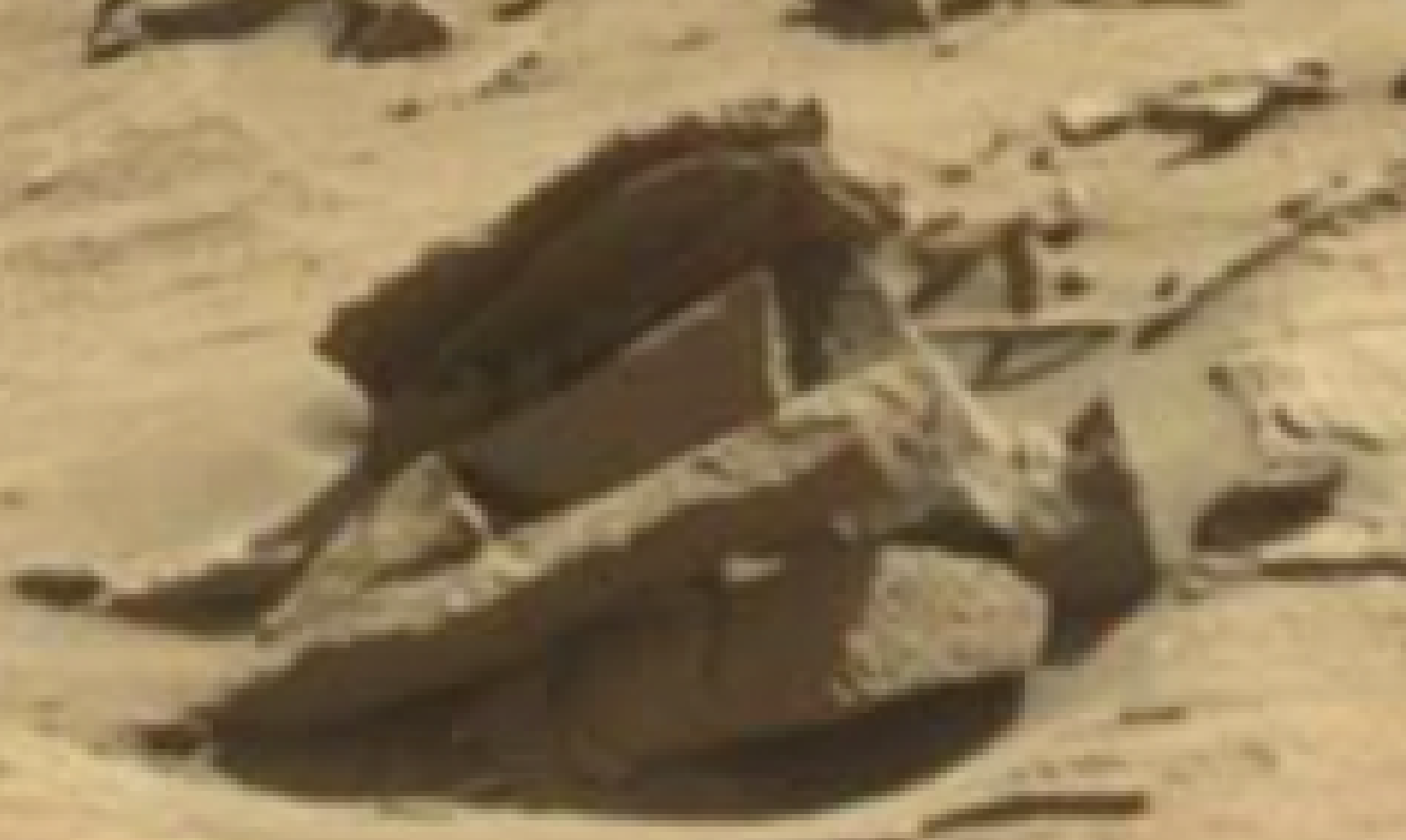 mars sol 1298 anomaly-artifacts 10 was life on mars