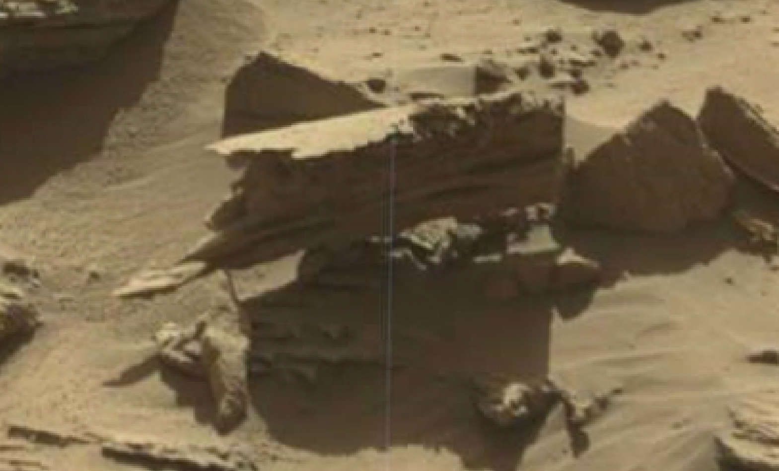 mars sol 1298 anomaly-artifacts 12 was life on mars
