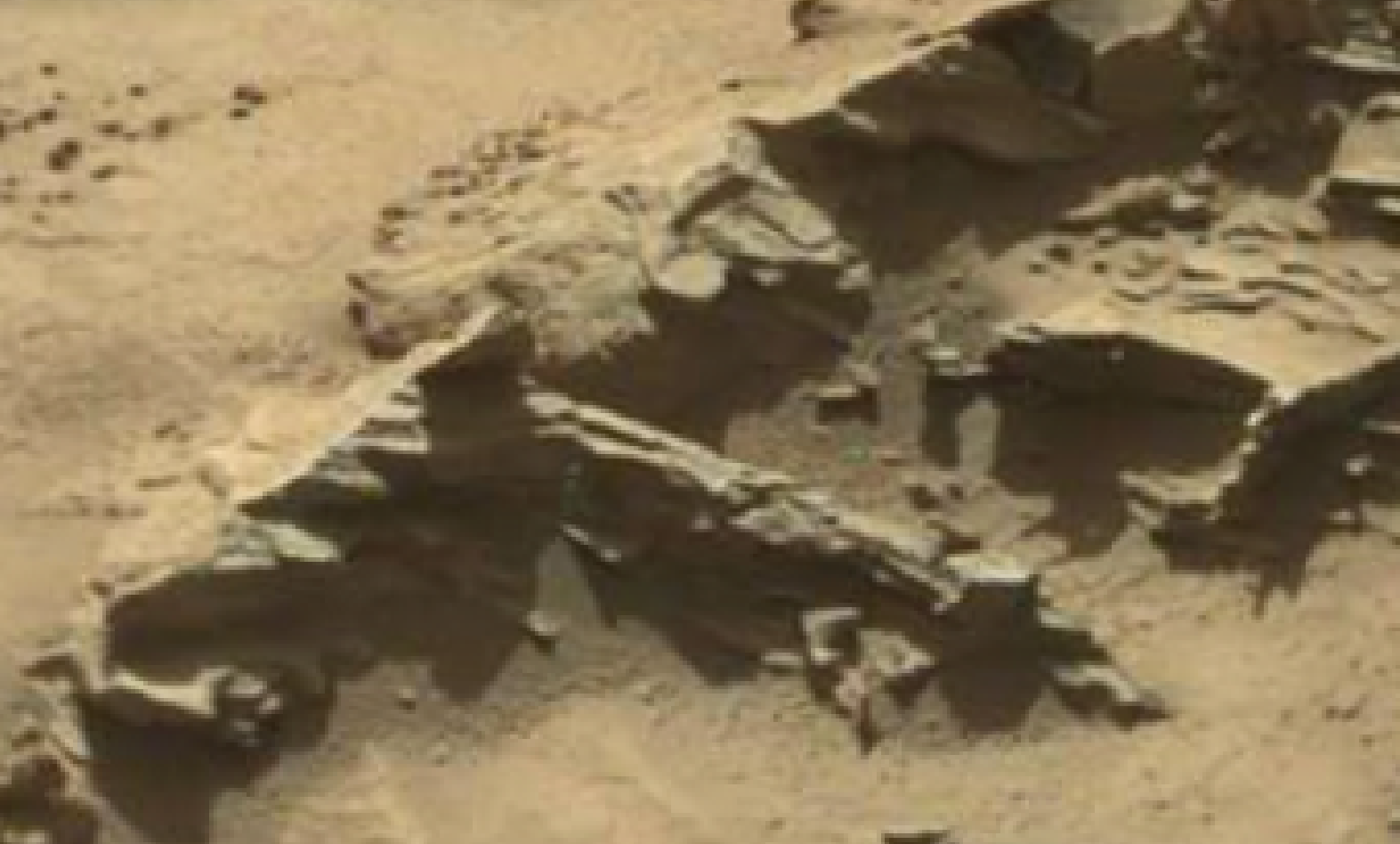 mars sol 1298 anomaly-artifacts 13 was life on mars