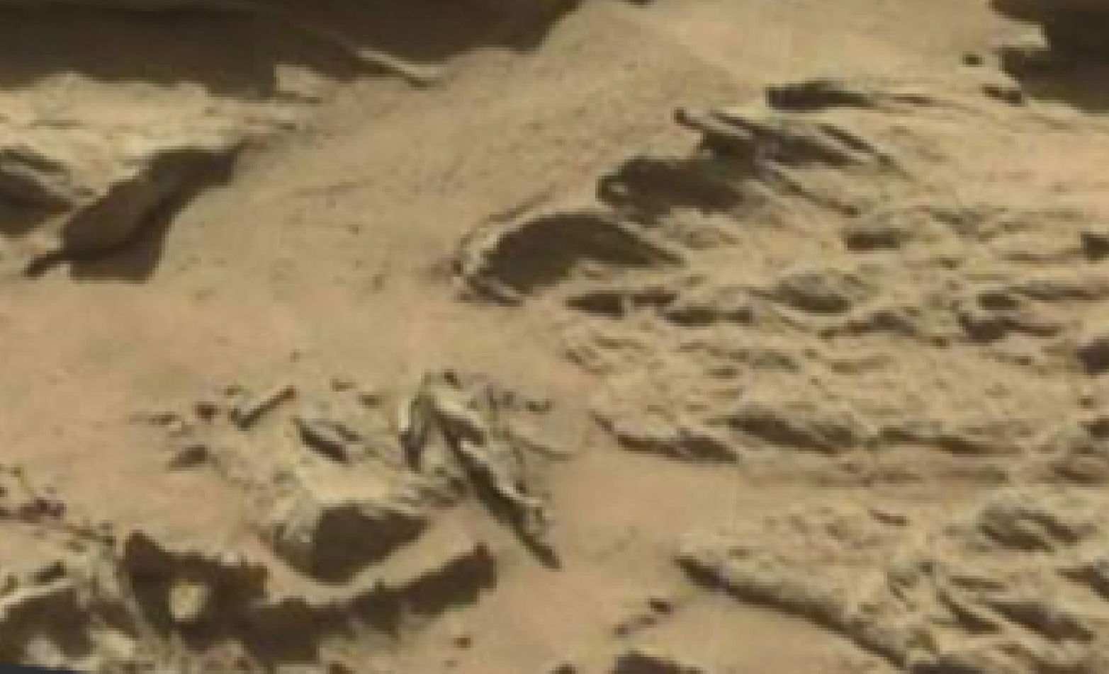 mars sol 1298 anomaly-artifacts 14 was life on mars