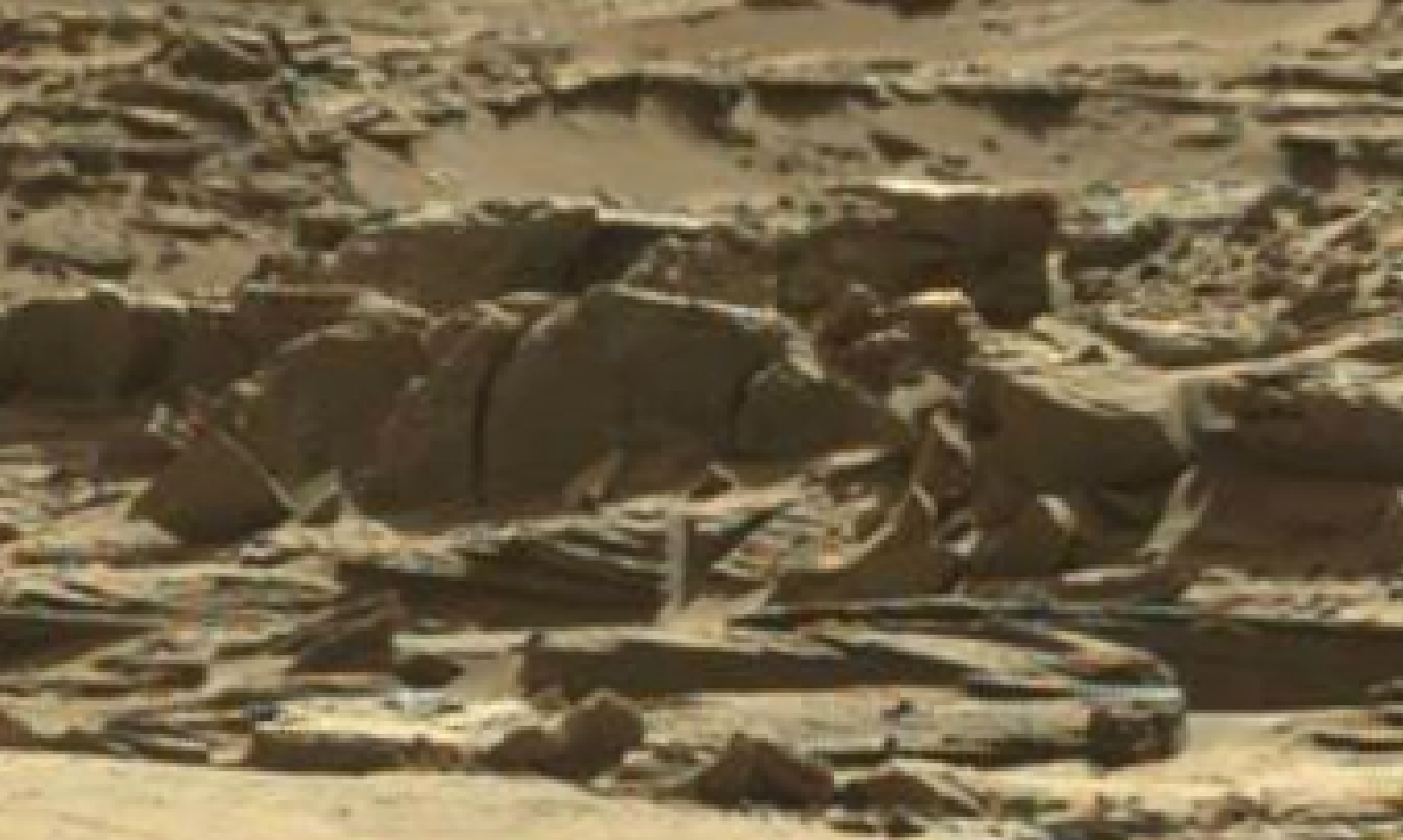 mars sol 1298 anomaly-artifacts 15 was life on mars