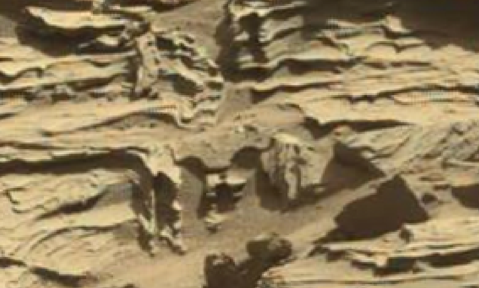 mars sol 1298 anomaly-artifacts 16 was life on mars