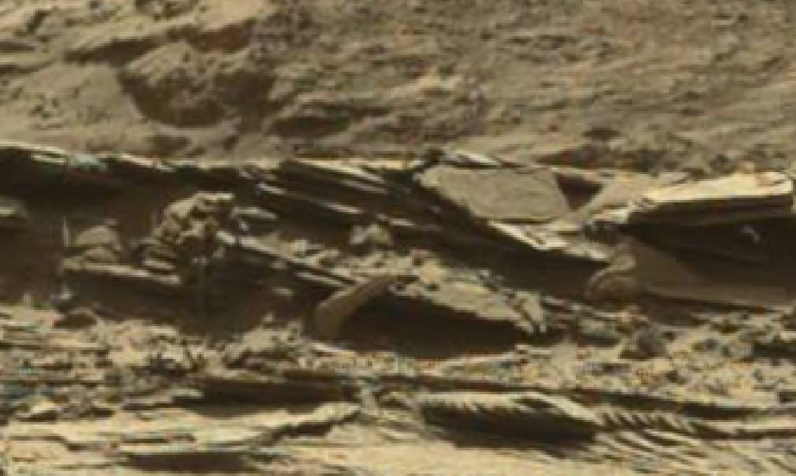 mars sol 1298 anomaly-artifacts 17 was life on mars
