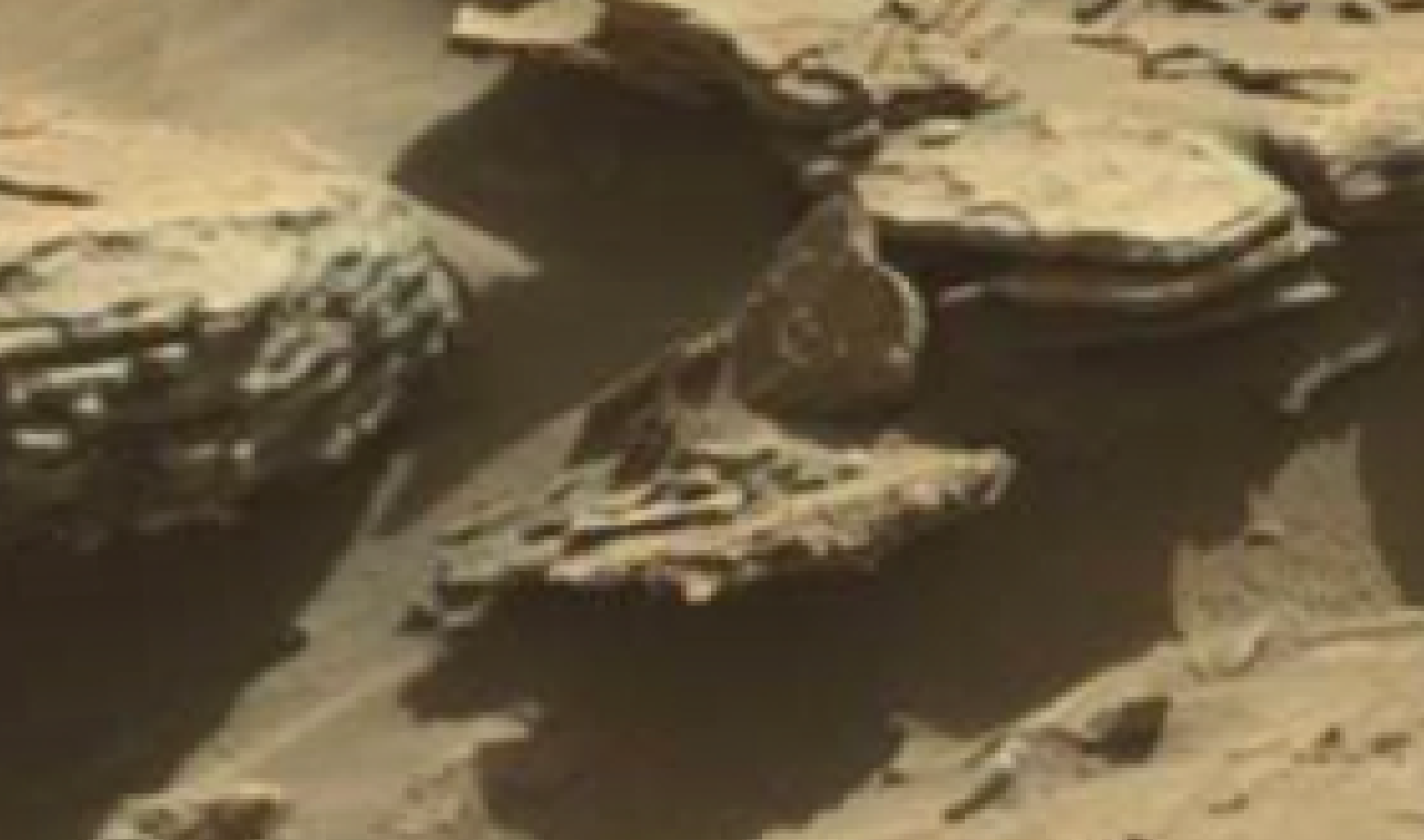 mars sol 1298 anomaly-artifacts 3 was life on mars