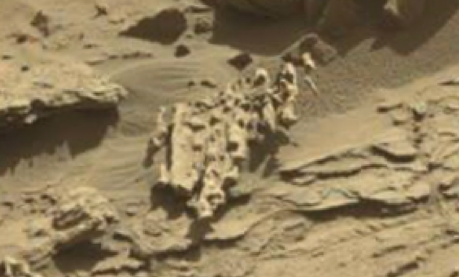 mars sol 1298 anomaly-artifacts 4 was life on mars