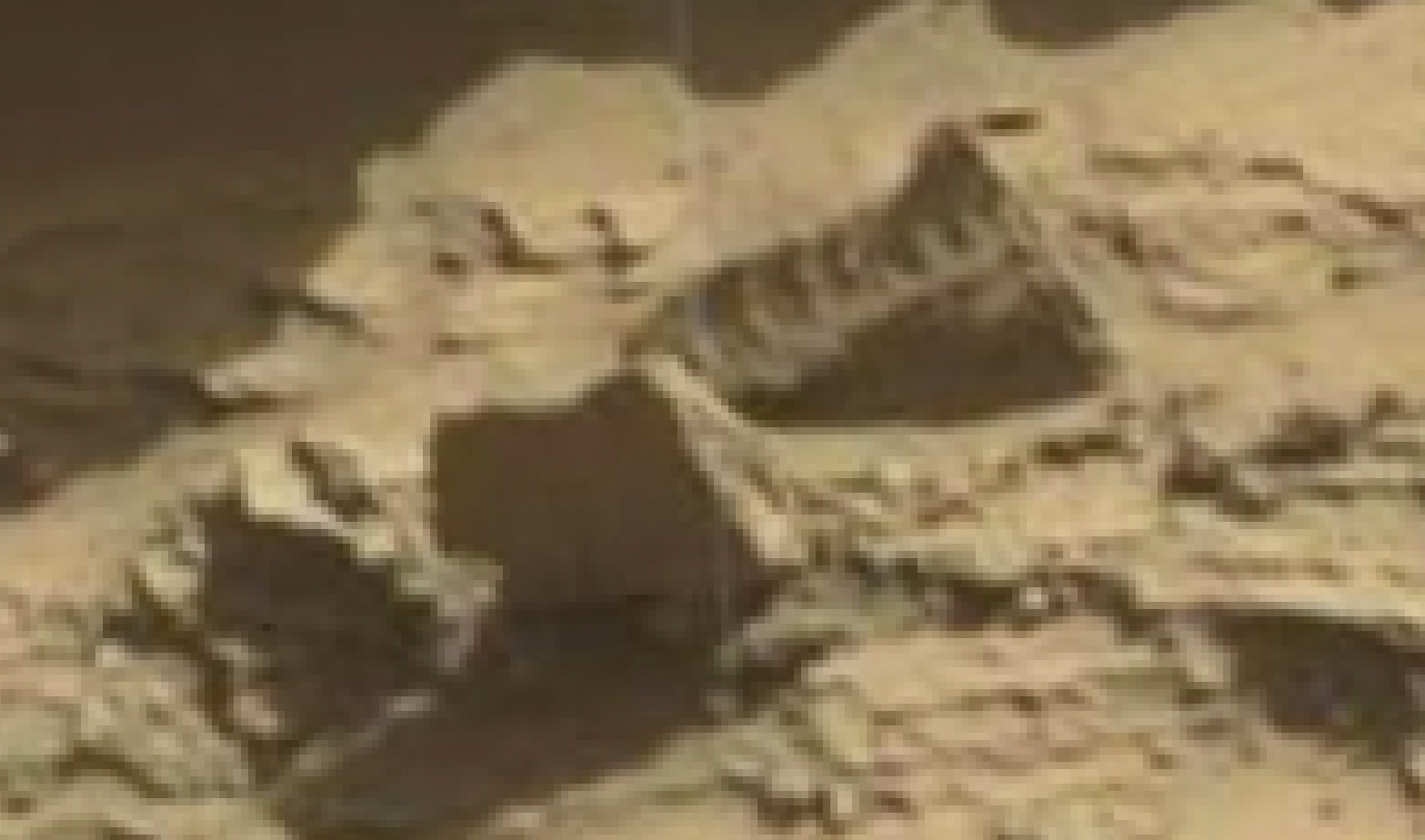 mars sol 1298 anomaly-artifacts 7 was life on mars