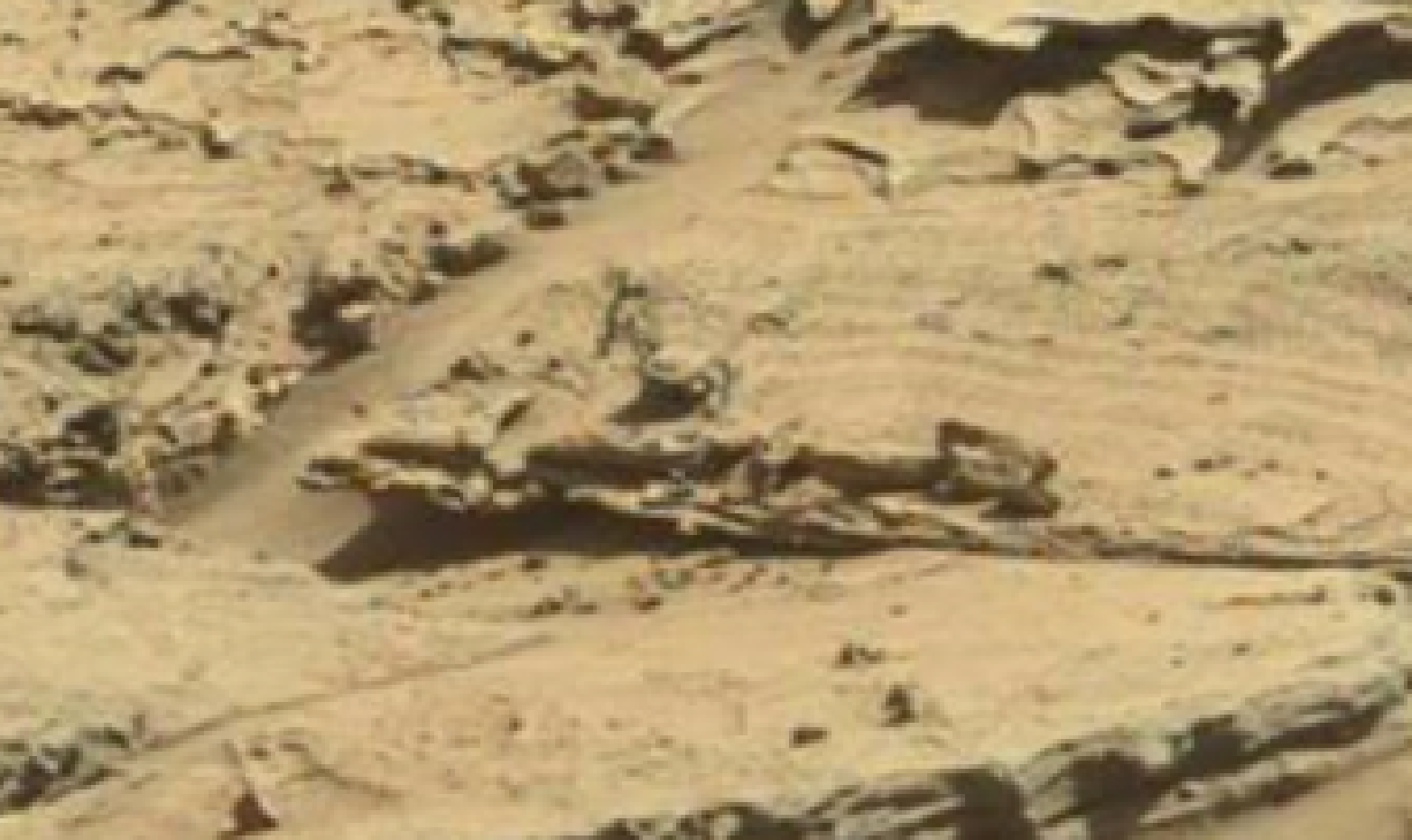 mars sol 1298 anomaly-artifacts 8 was life on mars