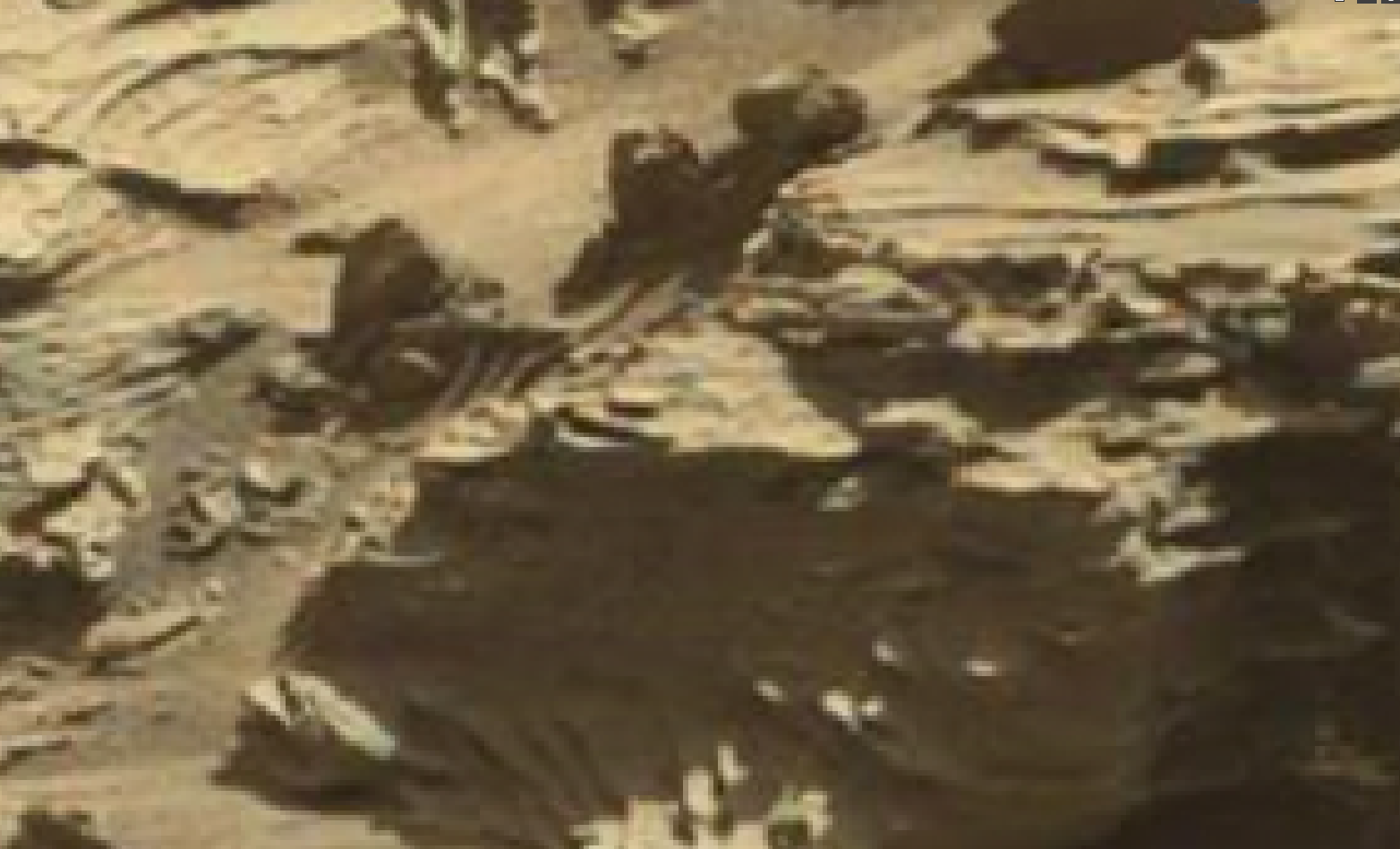 mars sol 1298 anomaly-artifacts 9 was life on mars