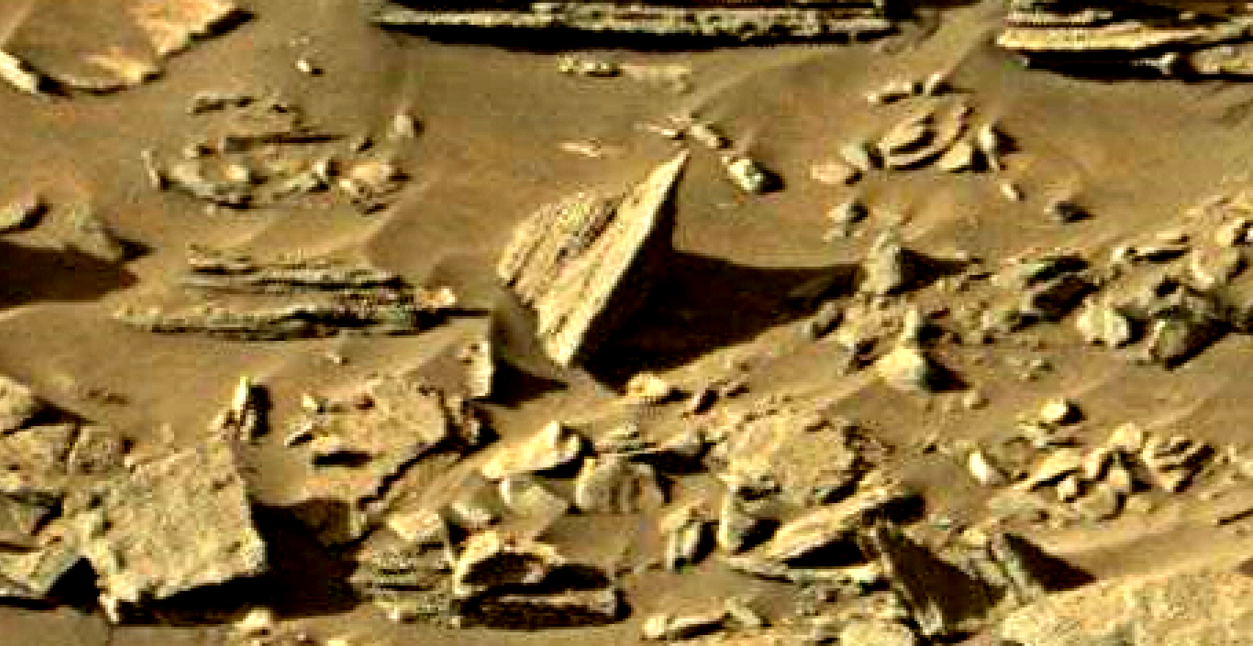 mars sol 1301 anomaly-artifacts 11-2 was life on mars