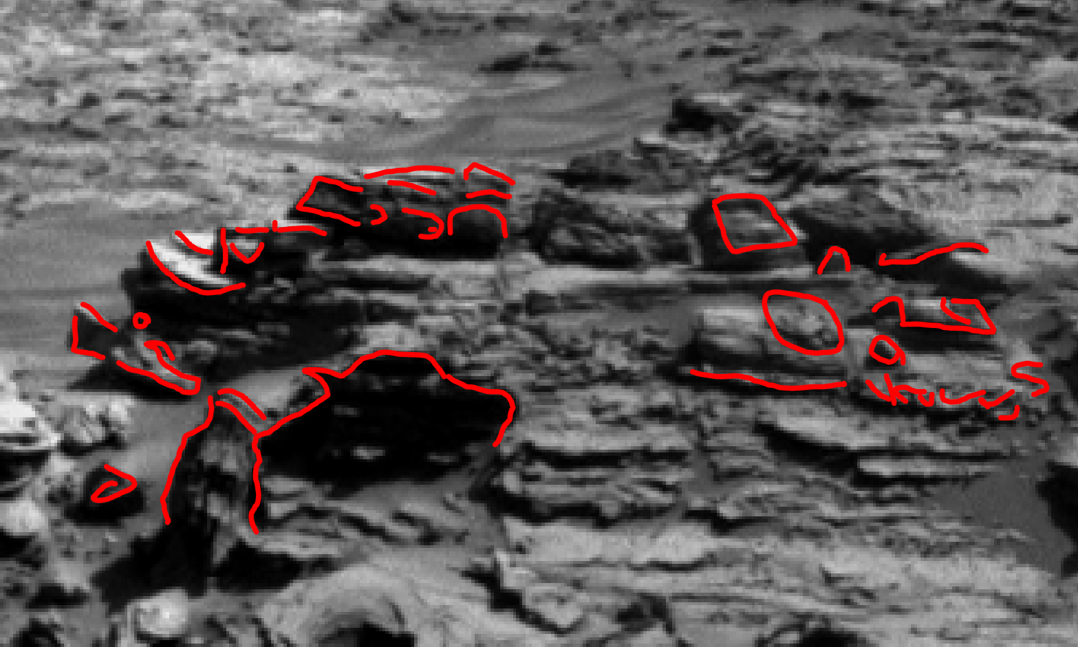 mars sol 1301 anomaly-artifacts 2a was life on mars