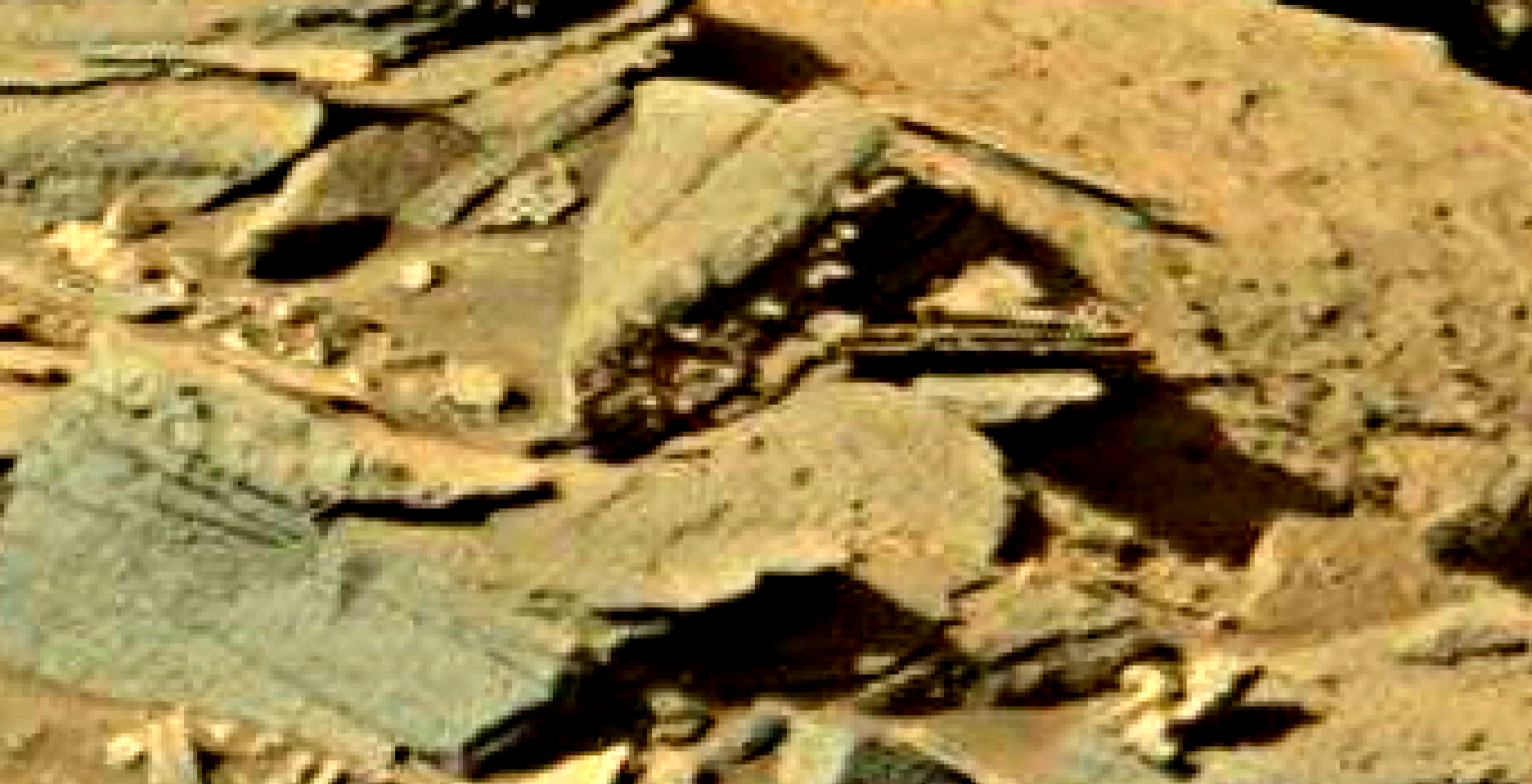 mars sol 1301 anomaly-artifacts 8 was life on mars