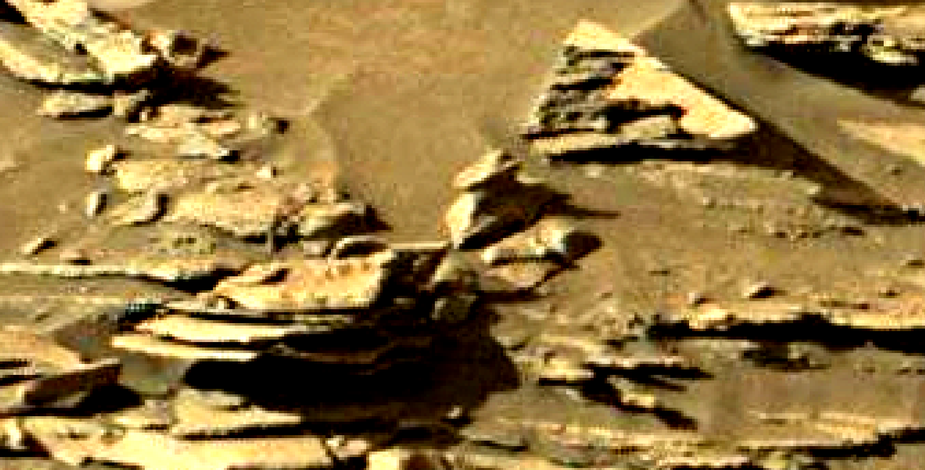 mars sol 1301 anomaly-artifacts 9 was life on mars