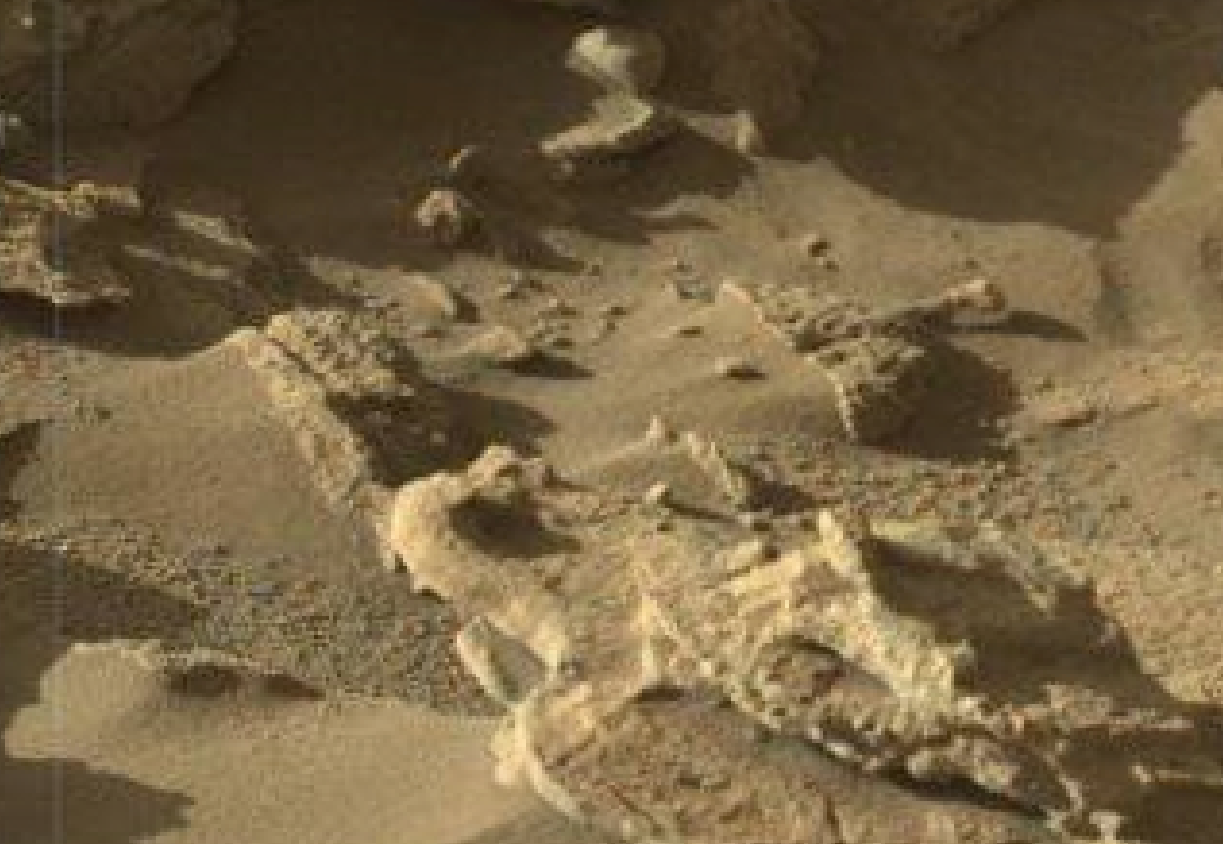 mars sol 1302 anomaly-artifacts 1 was life on mars