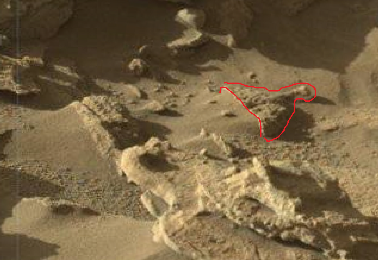 mars sol 1302 anomaly-artifacts 1a1 was life on mars