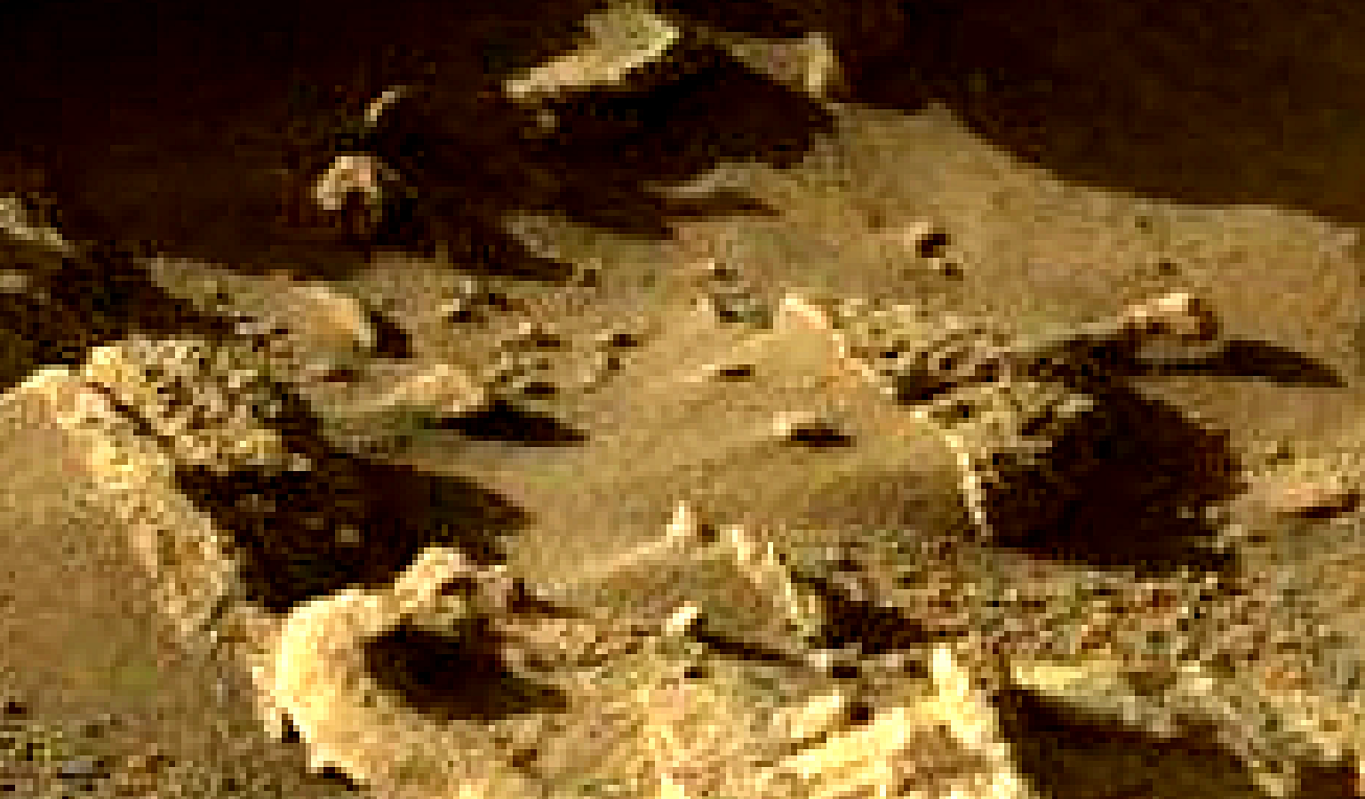 mars sol 1302 anomaly-artifacts 1b1 was life on mars
