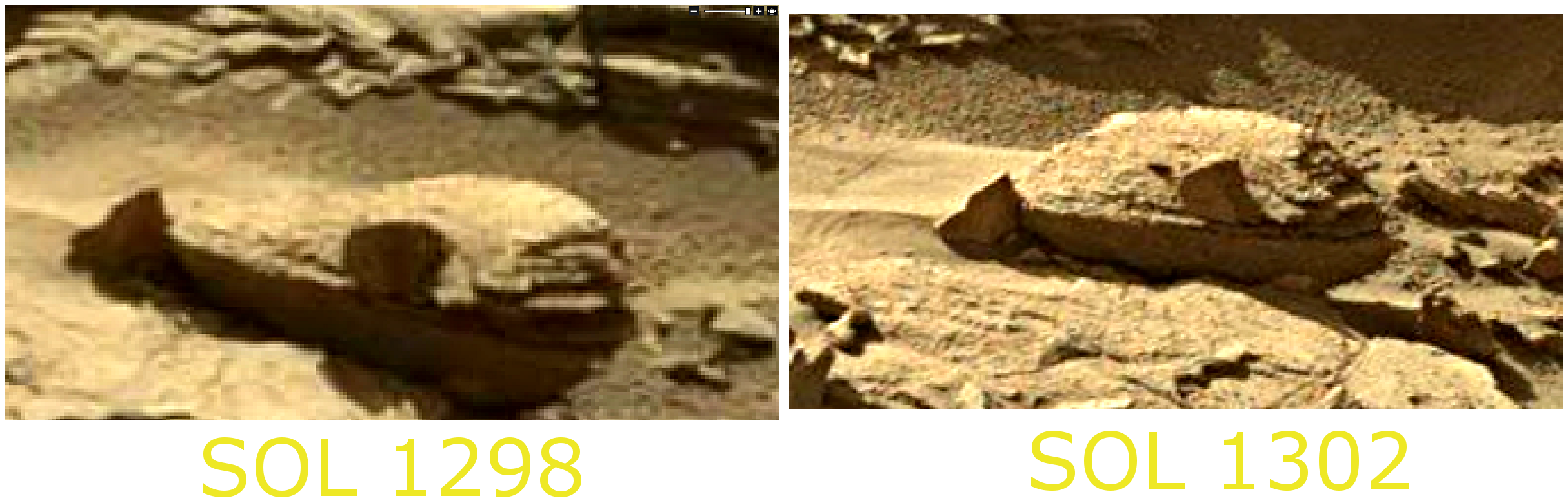 mars sol 1302 anomaly-artifacts 4 sbs - was life on mars