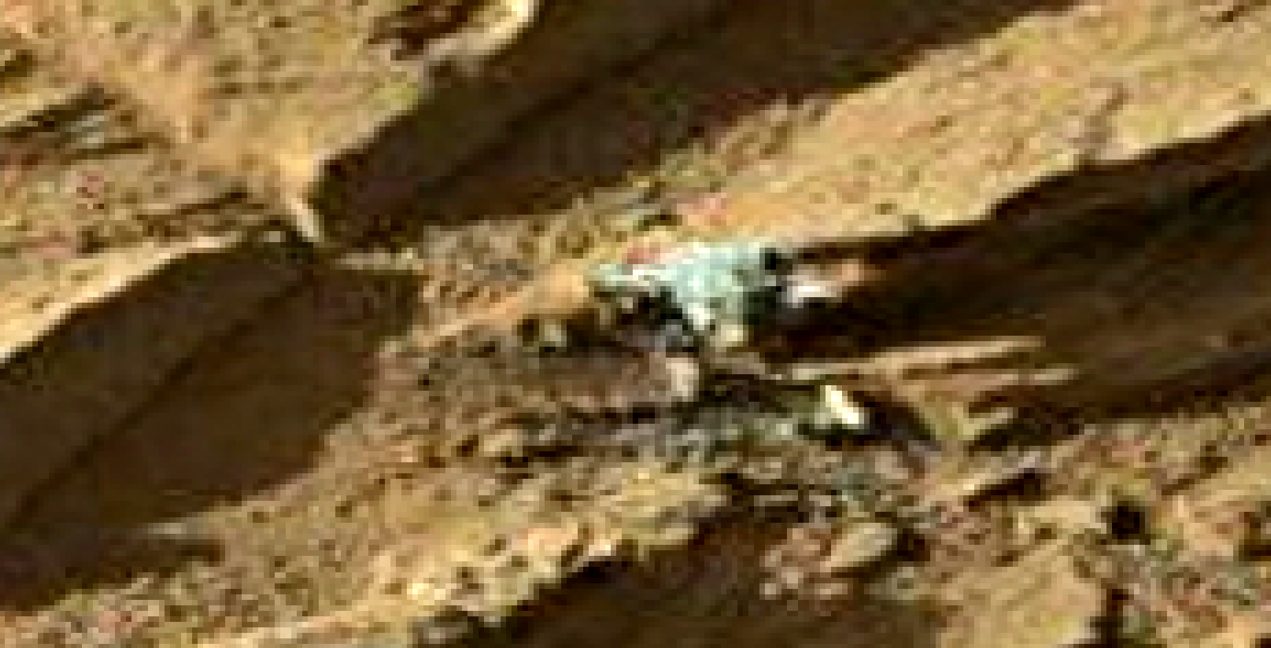 mars sol 1302 anomaly-artifacts 8b was life on mars