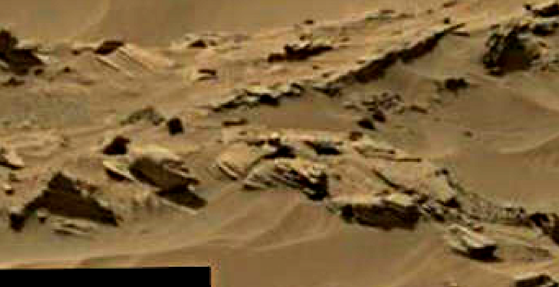 mars sol 1344 anomaly-artifacts 10 was life on mars