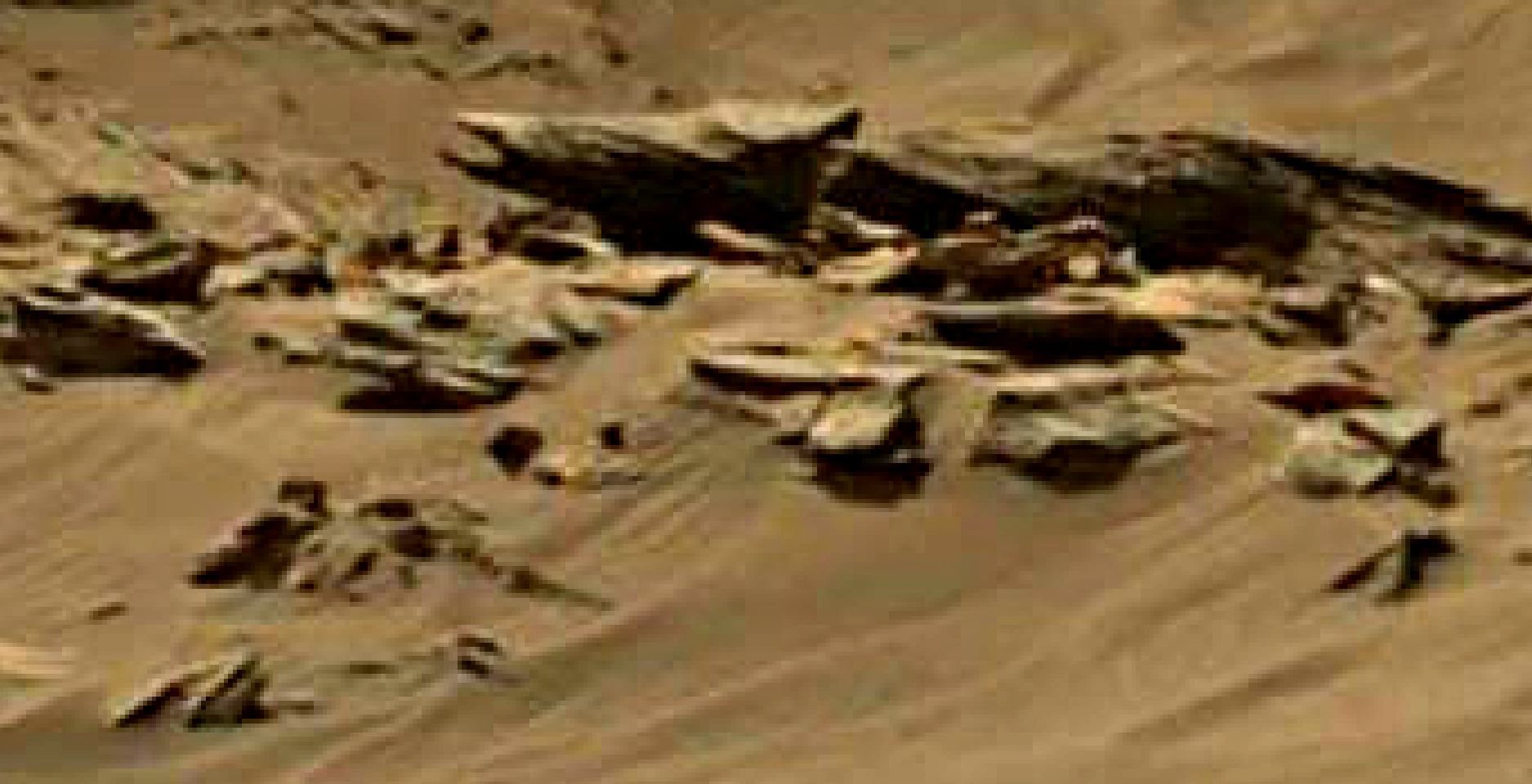 mars sol 1344 anomaly-artifacts 11 was life on mars