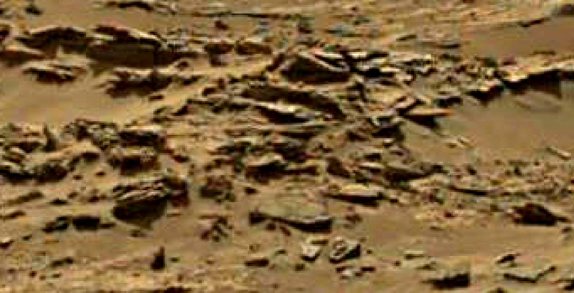 mars sol 1344 anomaly-artifacts 12 was life on mars