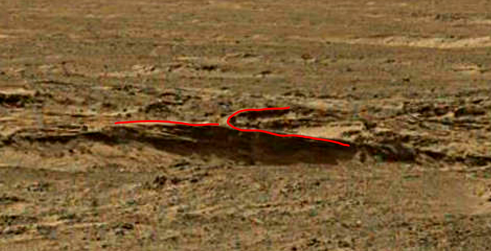 mars sol 1344 anomaly-artifacts 13a was life on mars