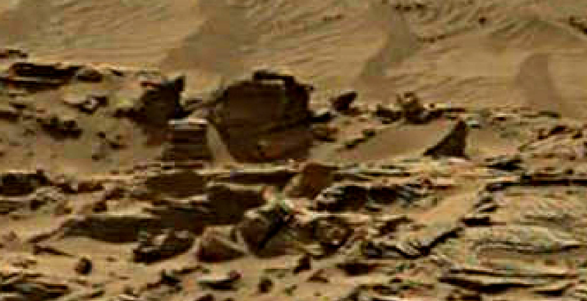mars sol 1344 anomaly-artifacts 3 was life on mars